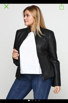 Куртка Miss Shilly иск.кожа XL 46-48 р