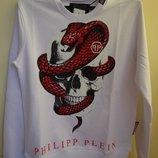Толстовка , свитшот , кофта , реглан Philipp Plein 100 % cotton - 3 вида