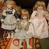 Кукла куколка лялька фарфоровые коллекционные куклы Германия