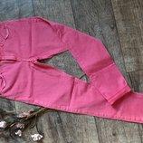 Пудровые , розовые джинсы skinny TopShop W28 L28/укороченные