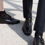 Туфли COS 100% кожа 41, 43р. мужская обувь
