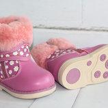 Зимние ортопедические ботинки Тм Шалунишка. Размер 22-27