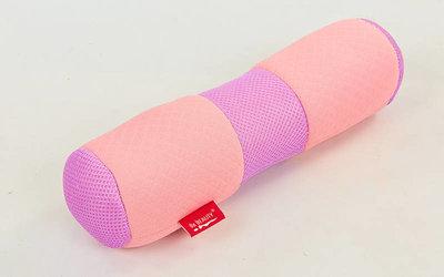 Болстер для йоги мягкий 6990 валик для йоги размер 36х11см