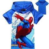 Модная футболка с капюшоном Spider-man