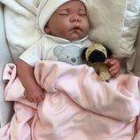 Кукла Реборн младенец мальчик Рамон, спящий, 40см, Антонио Хуан, Antonio Juan 8108