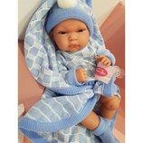 Кукла младенец реборн, 33 см, Тонета, Antonio Juan 6021, Антонио Хуан