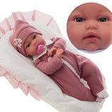 Кукла младенец реборн, девочка, озвученная, Antonio Juan 7040, Антонио Хуан