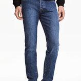 Оригинальные джинсы-Slim от бренда H&M разм. 28