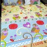 Детский постельный комплект Яркая милая расцветка Отличное качество