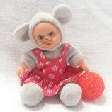 Куколка Пупс Мышка Мышонок
