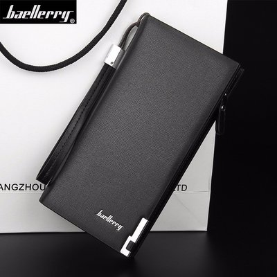 Мужской кошелёк-портмоне Baellerry Classic black