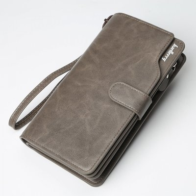 Мужской клатч Baellerry Business New grey