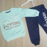Спортивный костюм Armani, 1,5-5 лет, мятный
