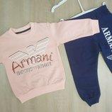 Спортивный костюм Armani, 1,5-5 лет, розовый