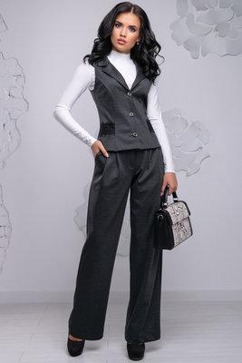 7e4470cba86 Женский деловой костюм жилетка с брюками 1032  900 грн ...