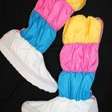 42-43 разм. Зима. Сапоги - дутики Adidas Длина по внутренней стельке- 27,5 см., ширина подошвы - 9,