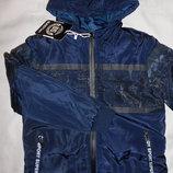 Курточка утепленная демисезон на мальчиков, 8 - 16 лет, Венгрия