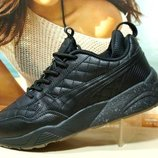Мужские кроссовки Puma Ronnie Fieg Ronnie RF698 черные 41р-46р