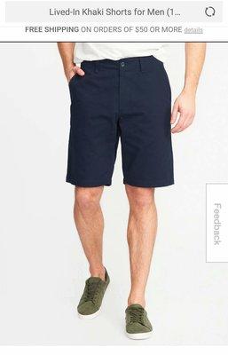 Новые шорты Old Navy, размер 30