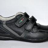 Кожаные туфли /кроссовки для мальчиков Kellaifeng Келлаифенг