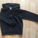 Толстовка на молнии с капюшоном, худи для мальчика H&M, размер 12-18 м, 80-86