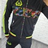 Мужской спортивный костюм 2 цвета 1153ас