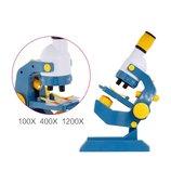 Микроскоп Научный C2123 научные игры опыты лаборатория эксперименты