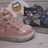 Зимние ботинки, для девочки