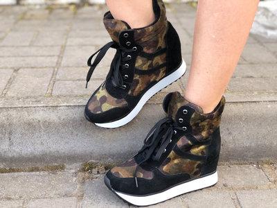 Крутые Ботинки Ботинки Кроссовки Полусапожки Натуральный Замш 24 см