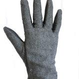 Женские перчатки кожа комбинированные