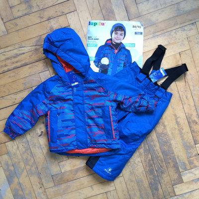 Комбинезон зимний куртка штаны Lupilu зимние