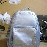 Городской женский рюкзак jasper серебристый металик арт.1803 скл.10