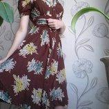 Платье-Халат миди 38-40р на 38р