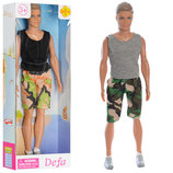 Кукла кен Defa 8337 кукла мальчик кен размер 30см, 2 вида