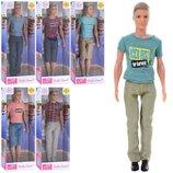 Кукла кен Defa 8372 кукла мальчик кен размер 31см, 5 видов