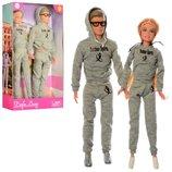 Кукла с мужем семья Defa 8360 кукла семья размер 29см