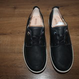 Качественные комфортные полуботинки для повседневной носки Ecco, оригинал