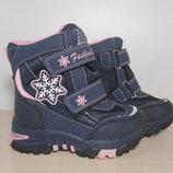 Термо ботинки Tom m арт.3851-В р.27-32 зимние ботинки, термики, том м зимові термо ботинки tom.m