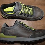 Водонепроницаемые кожаные ботинки ECCo с мембраной Hydromax