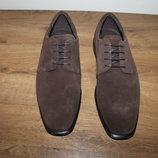 Мужские кожаные туфли дерби ECCO, оригинал