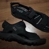 Качественные кожаные сандалии от известного бренда ECCO, оригинал