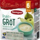Фруктовая каша груши и яблоки Семпер Semper с 6-ти месяцев
