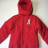 Зимняя детская куртка Disney на девочку 10 лет, рост 140
