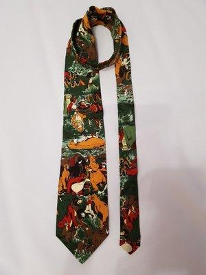 Tie rack disney галстук шелк италия маугли