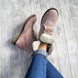 Распродажа Мега крутые натуральные кожаные демисезонные и зимние ботинки 36,37,38,39,40,41