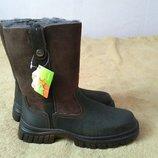 Зимние новые сапоги,ботинки, кожаные,нубук, замша натуральные