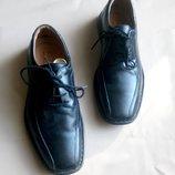Комфортные мягусенькие новые прошитые туфли Josef Seibel р. 40 мужские