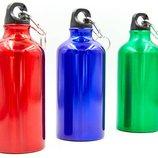 Бутылка для воды спортивная L-500 бутылка термос 3 цвета, объем 500мл