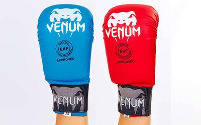Перчатки для карате Venum 5855 накладки карате 2 цвета, S-L