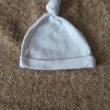 Фирменная шапочка 0-3мес